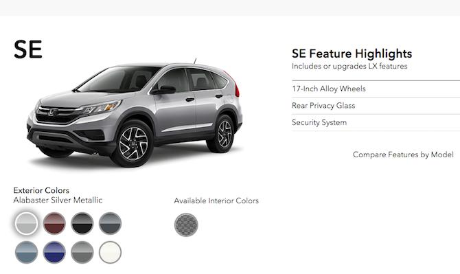 Honda CRV-SE