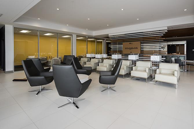 Schomp Honda Client Lounge