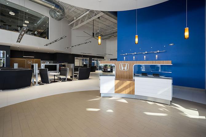 Attractive Inside Dealership
