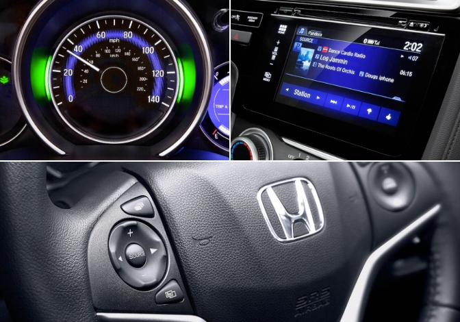 Speedometer Steering Wheel and Radio