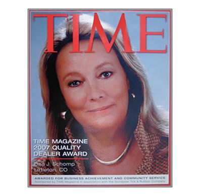 Time Magazine features Lisa Schomp
