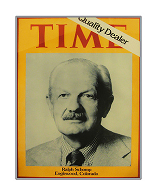 Time Magazine Features Ralph Schomp