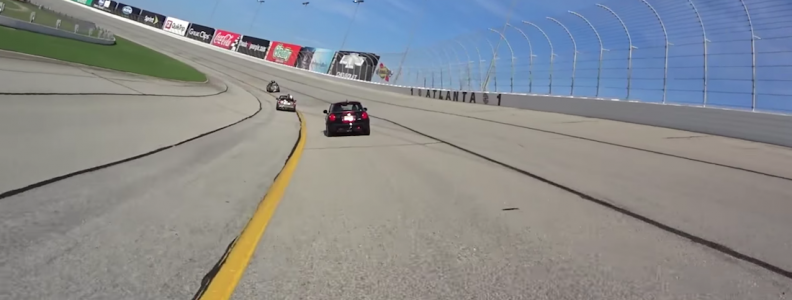 Watch the 2016 MINI Cooper Clubman Lap Atlanta Motor Speedway