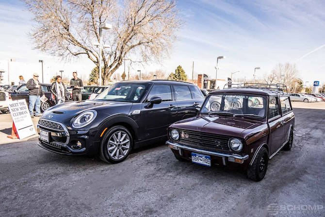 Lease A 2016 Mini Cooper Clubman For 229mo With 0 Down Schomp Mini