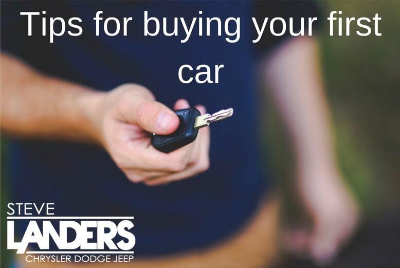 tips for buying your first car steve landers chrysler dodge jeep ram. Black Bedroom Furniture Sets. Home Design Ideas