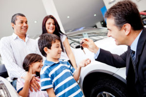 Car Shopping With Kids