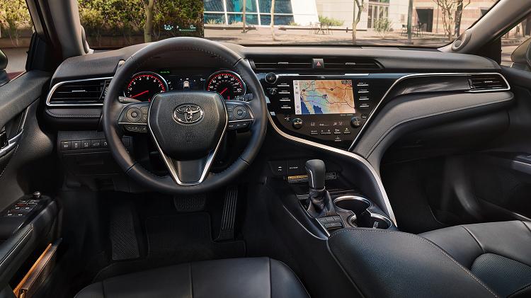 Redesigned Toyota