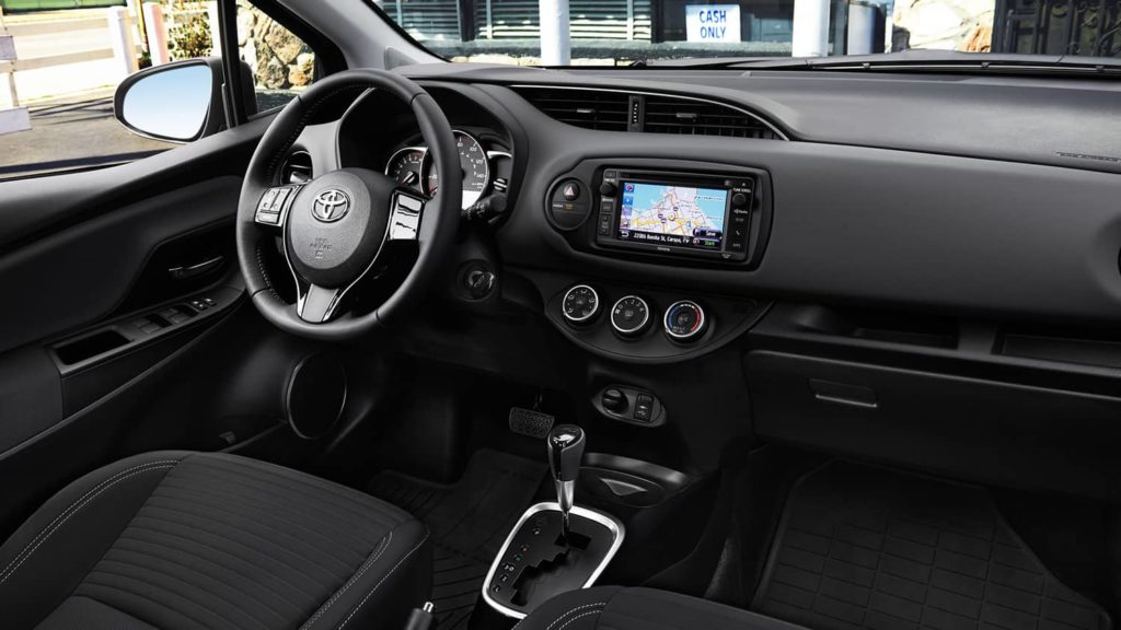 Toyota Yaris Interior