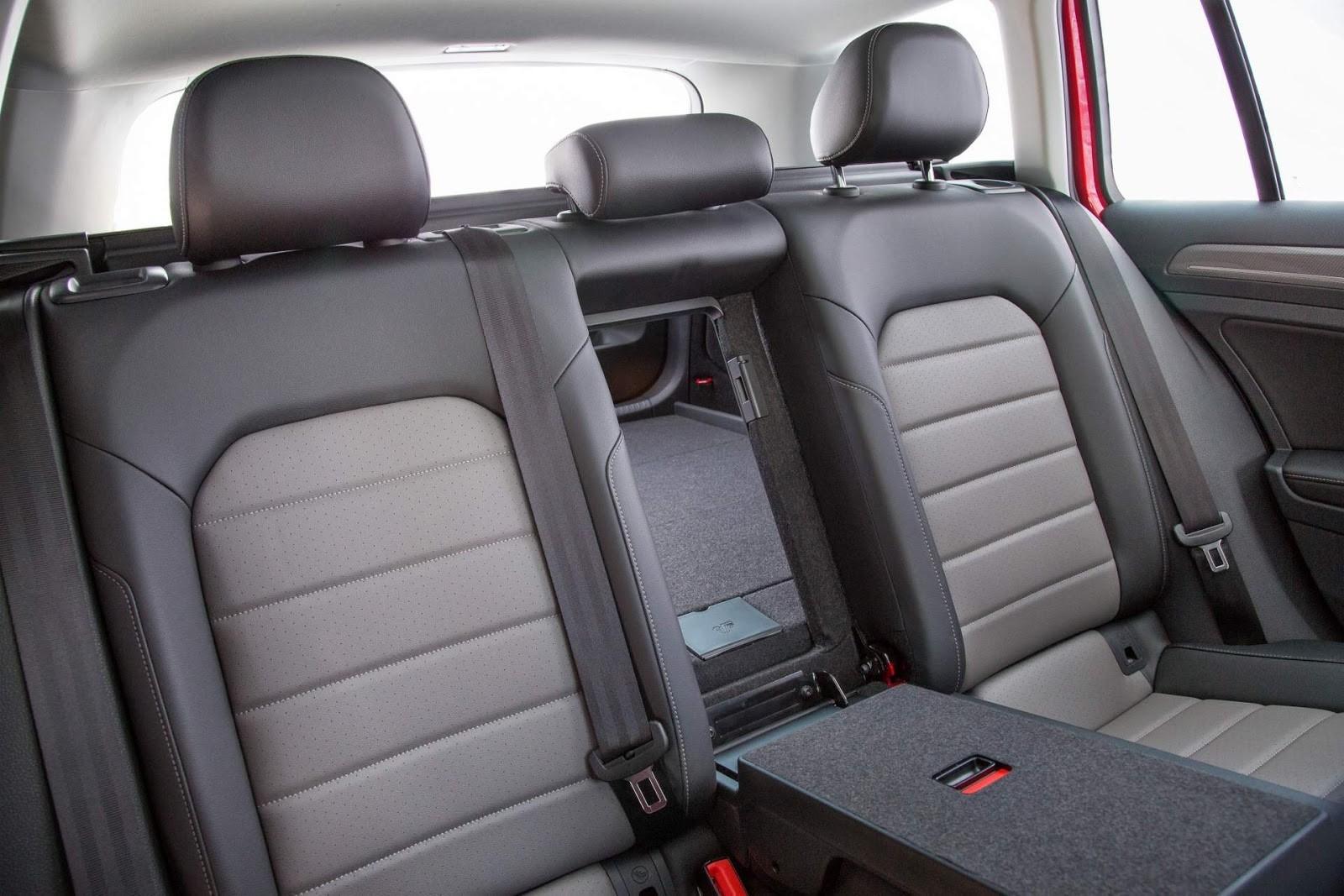 VW Alltrack Interior