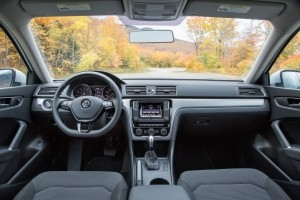 2017 VW Passat Interior