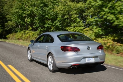 VW CC Back