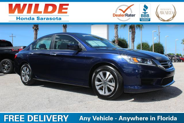Used Car of the Week- 2013 Honda Accord LX Sedan