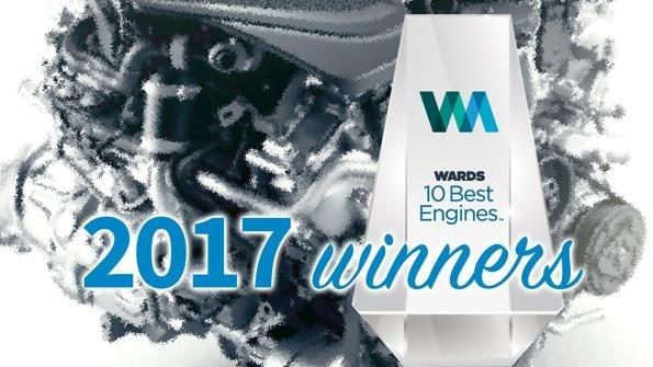 Ward's 10 Best Engine Award