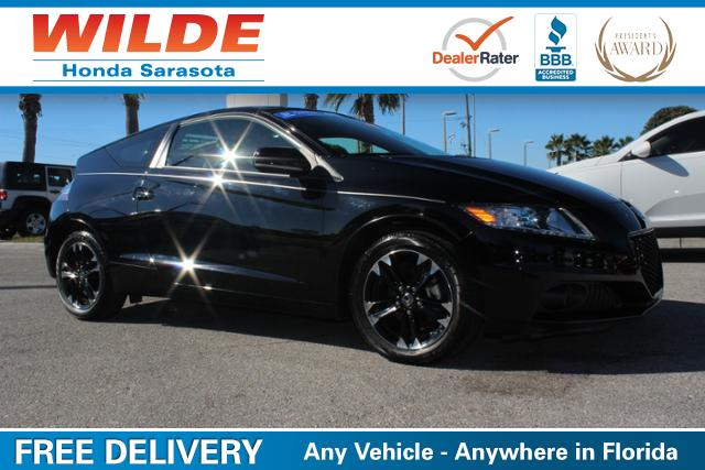 Used Car of the Week- 2015 Honda CR-Z EX w/Navigation Coupe
