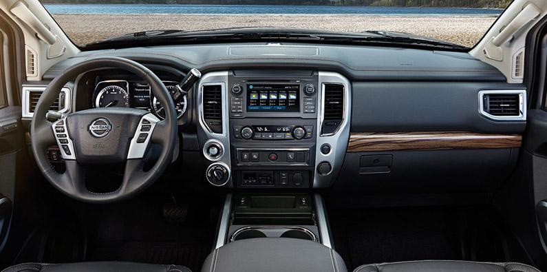 Nissan Titan Dash